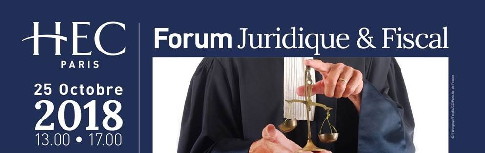 HEC forum juridique 2018