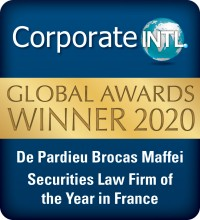 CorporateINTL Law Firm of the Year Securities Law