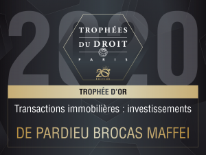 Trophee 2020 IMMO or