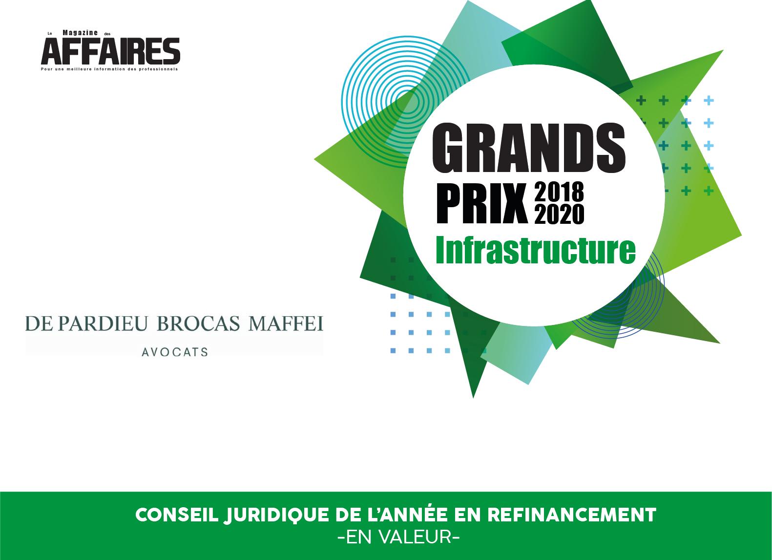 Classement Infrastructure 2018-2020 – Le Magazine des Affaires