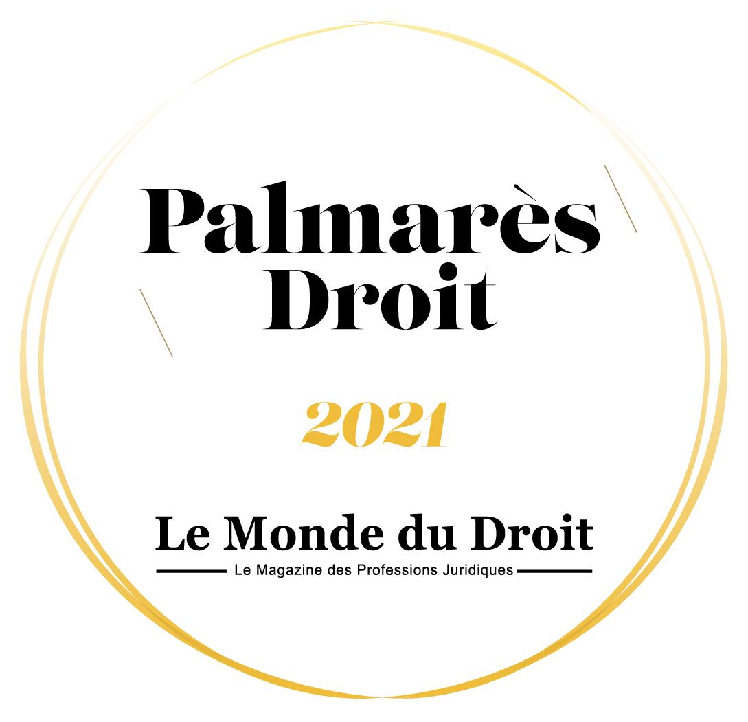 Palmarès du Droit 2021